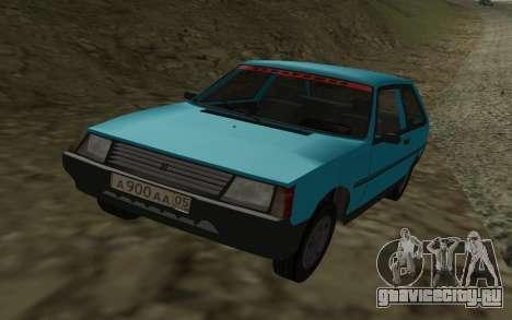 ЗАЗ 1102 Таврия для GTA San Andreas вид слева