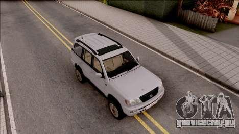 Lexus LX470 2003 для GTA San Andreas вид справа
