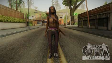The Walking Dead: No Mans Land - Michonne для GTA San Andreas второй скриншот