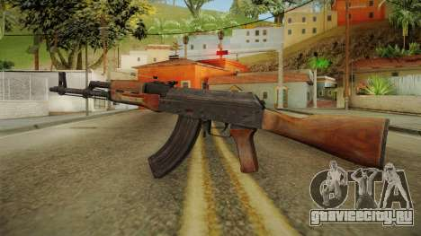 AKM Assault Rifle v1 для GTA San Andreas второй скриншот