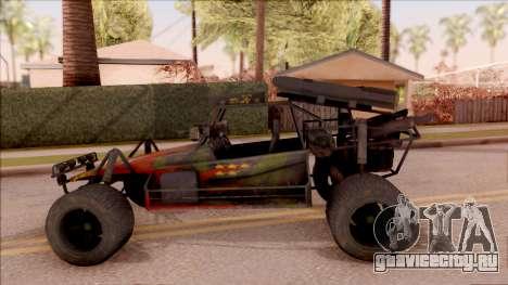Chenowth FAV from Mercenaries 2: World in Flames для GTA San Andreas вид слева