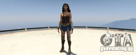 Wonder Woman 2017 1.2 для GTA 5