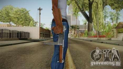 Ingram Model 6 SMG для GTA San Andreas третий скриншот