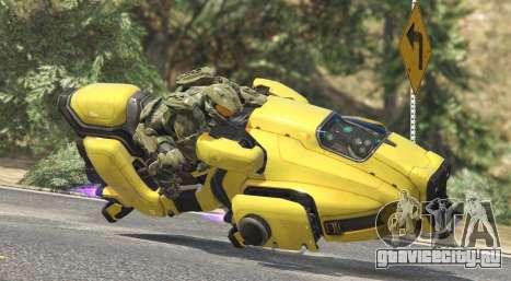 Sci-Fi Hover Bike 1.1b для GTA 5