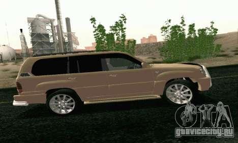 LEXUS LX470 Exclusive для GTA San Andreas вид слева