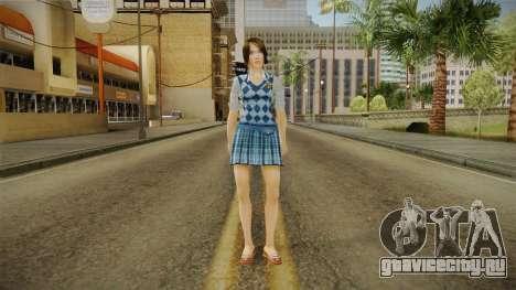 Pinky Gauthier form Bully Scholarship v1 для GTA San Andreas второй скриншот