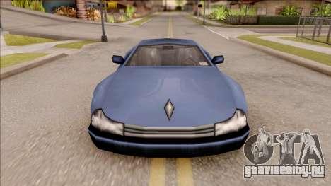 Cheetah from GTA 3 для GTA San Andreas вид изнутри