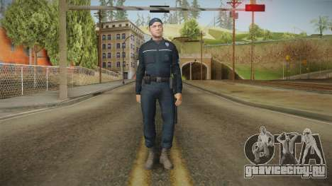 Turkish Police Officer Long Sleeves для GTA San Andreas второй скриншот