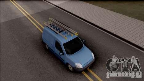 Citroen Berlingo Mk2 Van для GTA San Andreas вид справа