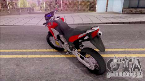 Honda XRE 300 для GTA San Andreas вид слева