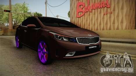 Kia Cerato Eccentric для GTA San Andreas вид сзади слева