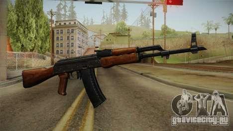 AKM Assault Rifle v2 для GTA San Andreas второй скриншот