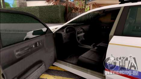 Cheval Fugitive Hometown PD 2012 для GTA San Andreas вид изнутри