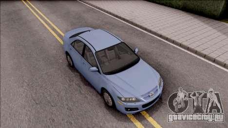Mazda 6 MPS для GTA San Andreas вид справа