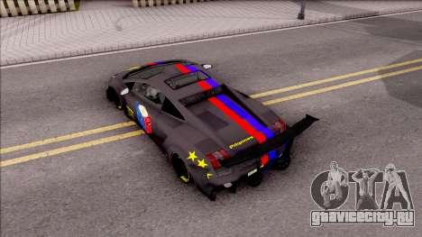 Lamborghini Gallardo Philippines v2 для GTA San Andreas вид сзади