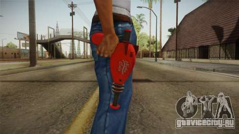 Nuka Cola Gun для GTA San Andreas третий скриншот