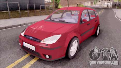 Ford Focus Hatchback для GTA San Andreas