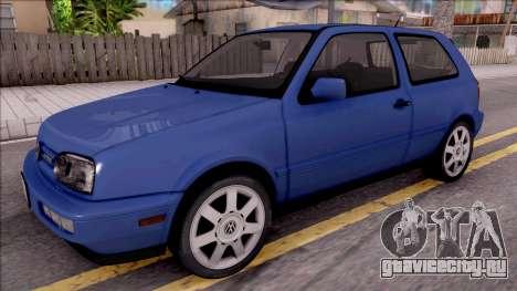 Volkswagen Golf GTI VR6 1998 для GTA San Andreas