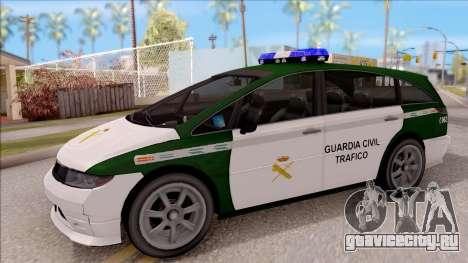 Dinka Perennial MPV Spanish Police для GTA San Andreas
