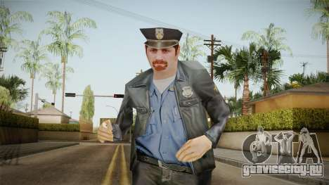 Driver PL Police Officer v4 для GTA San Andreas