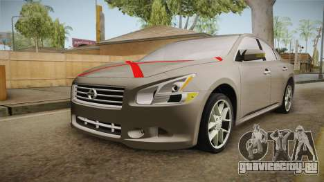 Nissan Maxima 2011 для GTA San Andreas