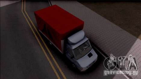 Zastava Daily 35 T для GTA San Andreas вид справа