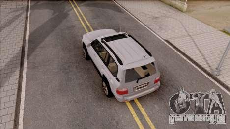 Lexus LX470 2003 для GTA San Andreas вид сзади