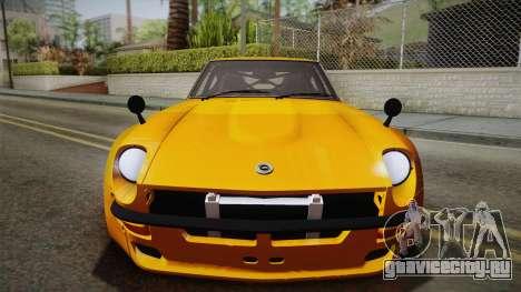 Nissan Fairlady Z 432 Rocket Bunny для GTA San Andreas вид справа