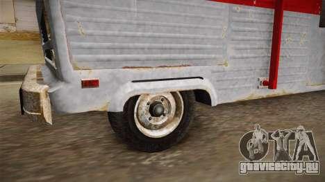 GTA 5 Zirconium Journey Worn для GTA San Andreas вид сзади