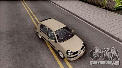 Renault Clio v1 для GTA San Andreas вид справа