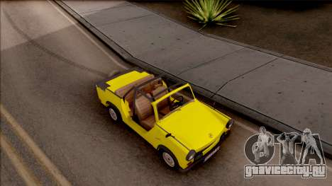 Trabant 601 Kübelwagen для GTA San Andreas вид справа