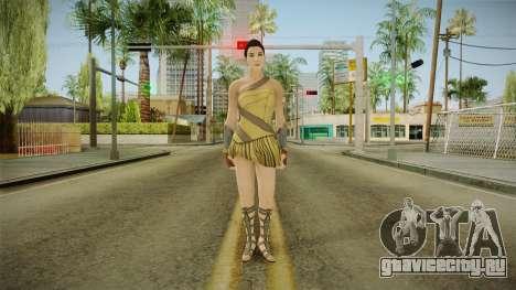 Wonder Woman (Amazon) from Injustice 2 для GTA San Andreas второй скриншот