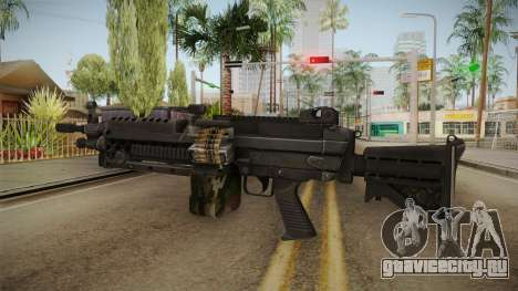 M249 Light Machine Gun v3 для GTA San Andreas второй скриншот