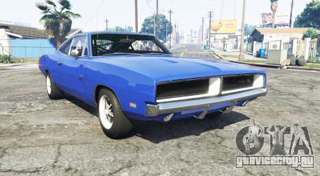 Dodge Charger RT (XS29) 1969 v1.2 [add-on] для GTA 5