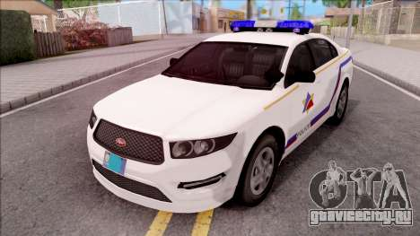 Vapid Police Interceptor Hometown PD 2012 для GTA San Andreas
