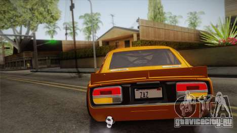 Nissan Fairlady Z 432 Rocket Bunny для GTA San Andreas вид сбоку