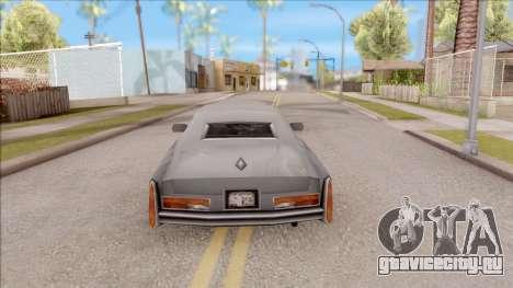 Esperanto from GTA 3 для GTA San Andreas вид сзади слева