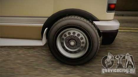 GTA 5 Brute Camper для GTA San Andreas вид сзади