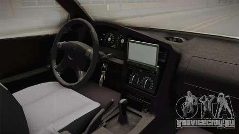 Opel Combo Ambulance для GTA San Andreas вид изнутри