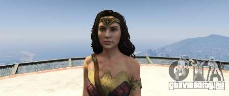 Wonder Woman 2017 1.2 для GTA 5 третий скриншот