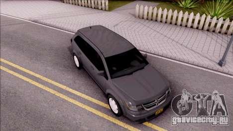 Dodge Journey 2009 для GTA San Andreas вид справа