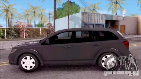 Dodge Journey 2009 для GTA San Andreas вид слева