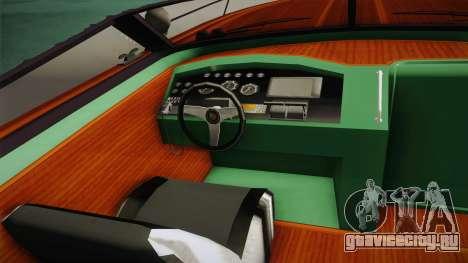 GTA 5 Speeder для GTA San Andreas вид сзади