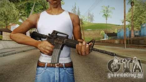 Colt M4A1 Rusty для GTA San Andreas