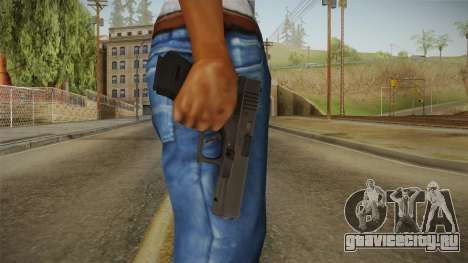 Glock 18 3 Dot Sight Ultraviolet Indigo для GTA San Andreas третий скриншот