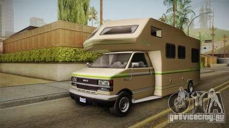 GTA 5 Brute Camper для GTA San Andreas вид справа