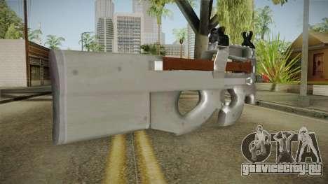 Chrome P90 для GTA San Andreas второй скриншот