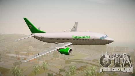 Boeing 737-300 Turkmenistan Airlines для GTA San Andreas