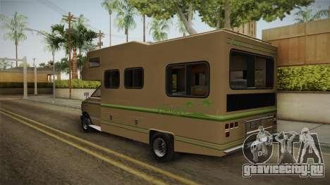 GTA 5 Brute Camper для GTA San Andreas вид сзади слева
