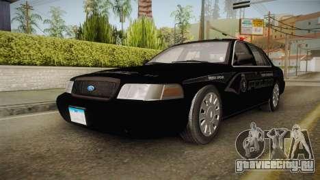 Ford Crown Victoria PI Stealth YRP для GTA San Andreas вид сзади слева